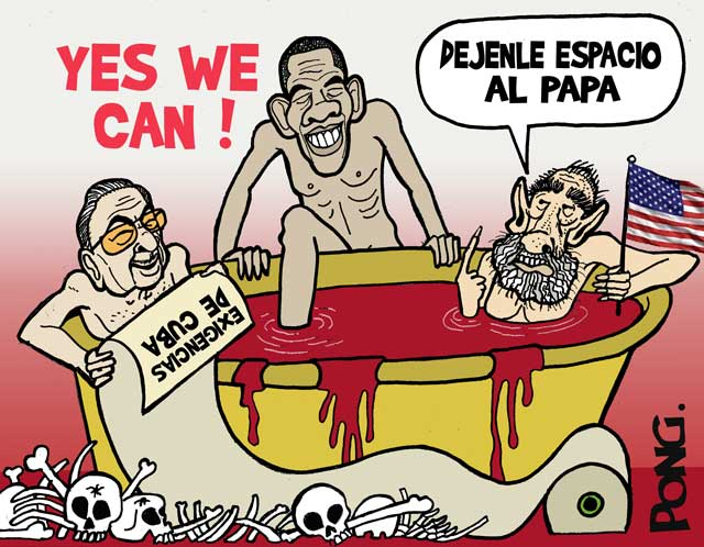 """Fidel Castro: """"Leave some room for the Pope"""""""