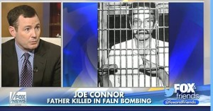 Joe Connor's, father was killed by a bomb and the terrorist accused of the crime, William Morales, is hiding in Cuba