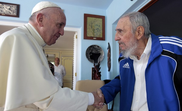 PapaFrancisco-FidelCastro-980